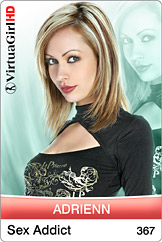 sexy software Virtual Girl: Adrienn - Sex addict