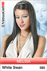 VirtuaGirl - Melisa / White swan