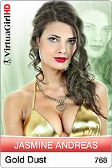 Jasmine Andreas: Gold dust