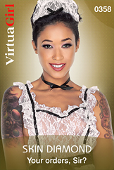 Skin Diamond: Your orders, Sir?