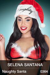 Selena Santana: Naughty Santa