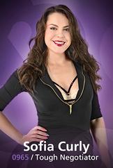 Sofia Curly/Tough Negotiator